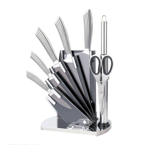 سری چاقو 8 پارچه تیغه آلمانی