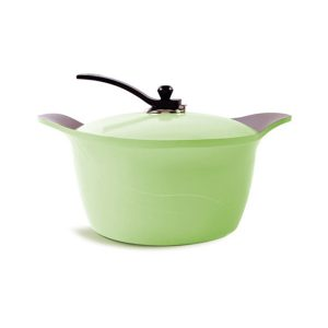 قابلمه سرامیک 32 سانت سبز